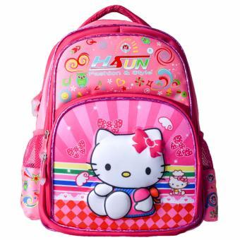 Balo học sinh Hasun HS 603 (kitty hồng)