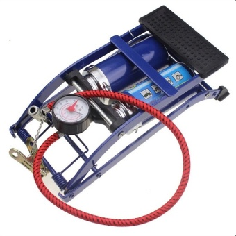Bơm hơi đa năng 2 ống C-mart L0002 (Xanh)