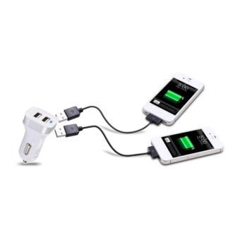 Tẩu sạc điện thoại trên xe hơi (2 cổng sạc USB thông minh)