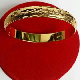 Lắc tay nữ đẹp mạ vàng 18K_Vòng tay nữ thời trang