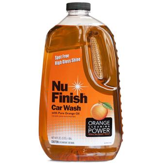 Nước rửa xe hơi Nu Finish Car Wash NFW-821, 1.89L