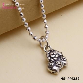 Mặt đeo dây chuyền, lắc tay, lắc chân cho bé 12 con giáp bạc Thái S925 Bạc Xinh - Quà tặng tuổi Mùi PP1382