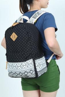 Balo thời trang Hàn quốc BL907 (Đen)