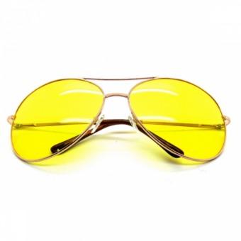 Kính mắt nam vàng nhìn xuyên đêm (Vàng)
