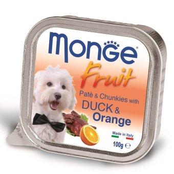Pate bổ sung dưỡng chất cho chó vị vịt & cam Monge Duck Orange