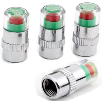 Mua Bộ 4 nút gắn van hơi lốp xe cảnh báo áp suất lốp xe hơi giá tốt nhất
