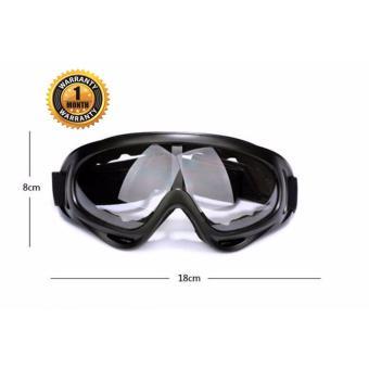 Kính đi phượt chống bụi và tia UV cho phượt thủ (Kính trắng)