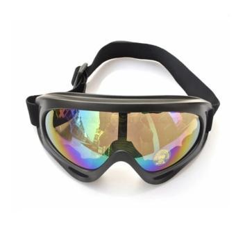 Mắt Kính để Đi Phượt chống bụi và tia UV7515 tráng bạc 7 màu