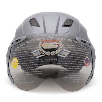 Nón bảo hiểm GRS A737K (Xám pháp bóng)