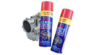 Chai xịt súc bình xăng con Abro carb & choke cleaner 340g