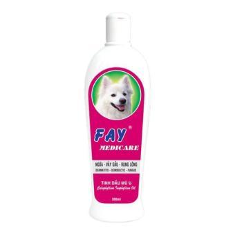Dầu tắm trị viêm da cho chó mèo Fay Medicare 300ml
