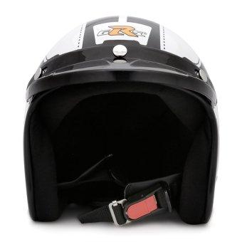 Nón bảo hiểm GRS A368M (Trắng bóng đen)