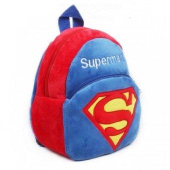Balo hình siêu nhân Superman QTT (Xanh)