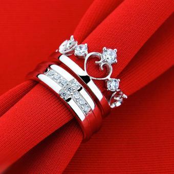 Nhẫn đôi Hoàng Tử Công Chúa xinh xắn SPR-JZ006