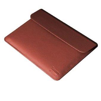 Túi da bảo vệ Macbook 13inch Tommy Town-M179 (Nâu đậm)