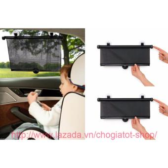 Bộ 2 màn che nắng tùy chỉnh kích thước cho cửa sổ ô tô 45x36cm
