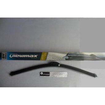 Chổi gạt mưa Korea Viewmax xương mềm MA2-24 inch- 24MA2-Nhập khẩu Hàn Quốc-Xe Toàn Cầu(Đen)