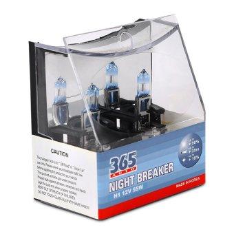 Bộ 2 bóng đèn ô tô 365-Auto H1 Night Breaker 12V