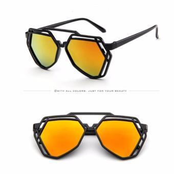 Mắt kính thời trang - MK0035V (vàng)