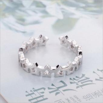 Nhẫn nữ hình ngôi sao Simple Style phong cách Châu Âu (NN05)