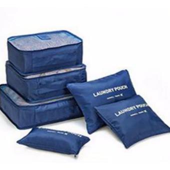 Bộ 6 túi du lịch dùng cho đồ dùng cá nhân và mỹ phẩm