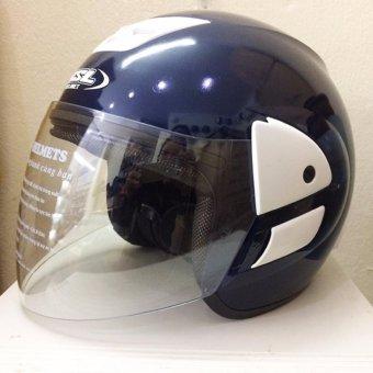 Mũ bảo hiểm HSL M1 (Xanh đậm bóng)
