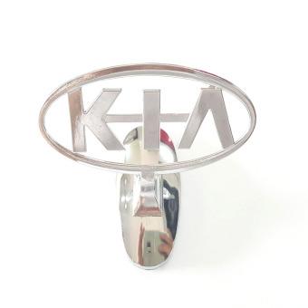 Logo kim loại dán đầu xe ô tô KIA