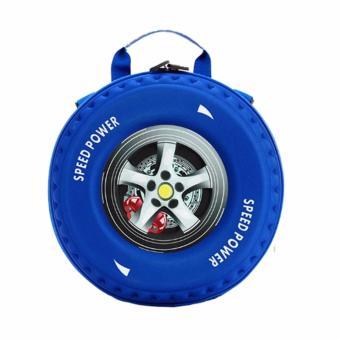 Ba lo hình bánh xe 3D dành cho bé năng động cá tính