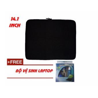 Túi chống sốc Laptop 14.1 Inch + KM bộ vệ sinh Laptop 4 món