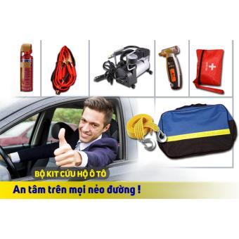 Bộ cứu hộ ô tô 6 món