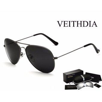 Kính mát phân cực thời trang cho nam chính hãng VEITHDIA (pilot)