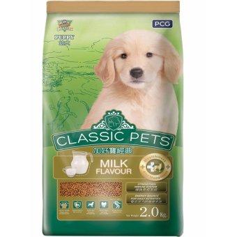 Thức ăn Classic Pets dành cho chó con hương vị sữa 2 kg