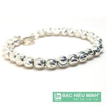 Lắc tay lắc chân trẻ em Bạc Hiểu Minh bằng bạc ta lte043