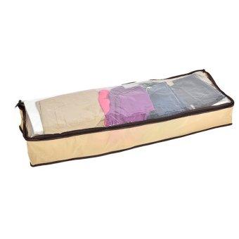 Túi đựng đồ dây kéo tiện ích siêu lớn 028 (Vàng)