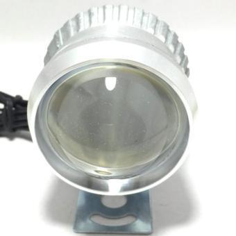 Đèn Fa led Thanh Khang trợ sáng L4 platinum kiểu bi cầu cao cấp 3 chức năng pha cos passing gắn xe máy