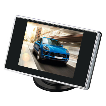 3.5 inch Digital LCD TFT Screen Car DVD Screen Car DVR Rearview Rear View Monitor Screen - intl