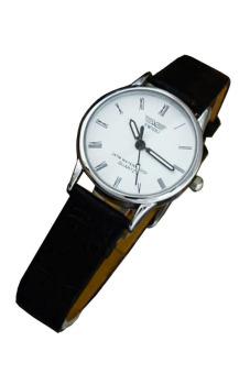 Đồng hồ nữ dây da SWIDU 002 (Mặt Trắng)