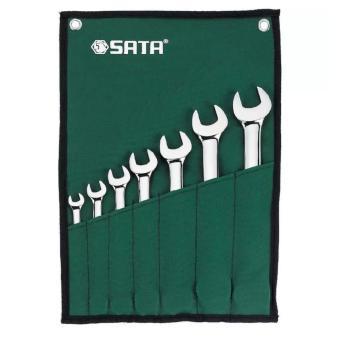 Bộ cờ lê hai đầu miệng 7 chi tiết 09073 SATA