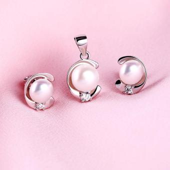 Bộ trang sức bạc Lovely Pearl | Eropi