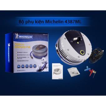 Máy bơm lốp oto, xe hơi điện tử MICHELIN 4387ML cao cấp - Nhập khẩu
