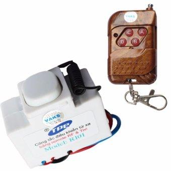 Bộ 01 công tắc điều khiển từ xa IR-RF TPE RI01+ 01 Remote 4 nút