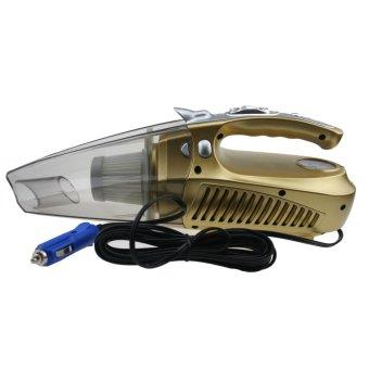Máy Hút Bụi Và Bơm Lốp Ô Tô Tongye Ksx-007 (Vàng)