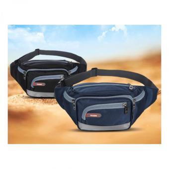 Túi đeo bụng thời trang chống nước chạy bộ Tidaizhe Loại 1 N125 (Đen)