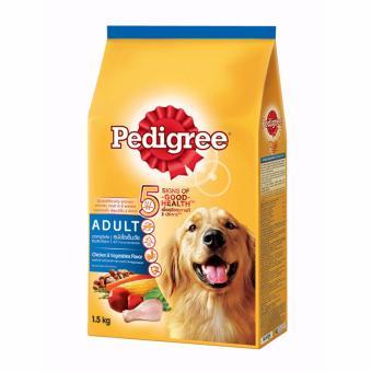 Thức Ăn Cho Chó Vị Gà Và Các Loại Rau Củ Pedigree Dạng Túi 1.5kg