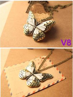 Vòng cổ hình bướm mẫu V8