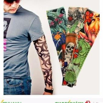 ống tay chống nắng hình xăm tattoo