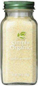 Bột tỏi xay sạch Simply Organic 103 g