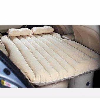 Giường hơi ô tô Smart ( vàng be)