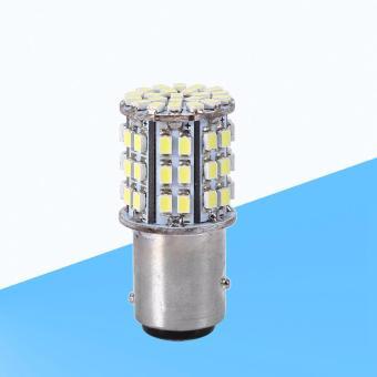 Bóng LED 1157 BAY15D gắn ô tô, xe máy 64 tim (Trắng)