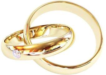 Nhẫn cặp bạc mạ vàng 14k-NCAP53